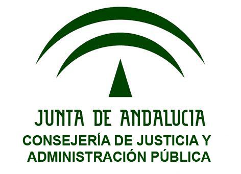 Logo Consejería de Justicia de la Junta de Andalucía